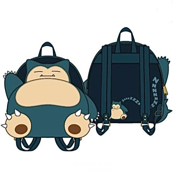 Pokemon Snorlax SET or MINI BACKPACK options  [PRE-ORDER - OCTOBER DELIVERY] LOUNGEFLY