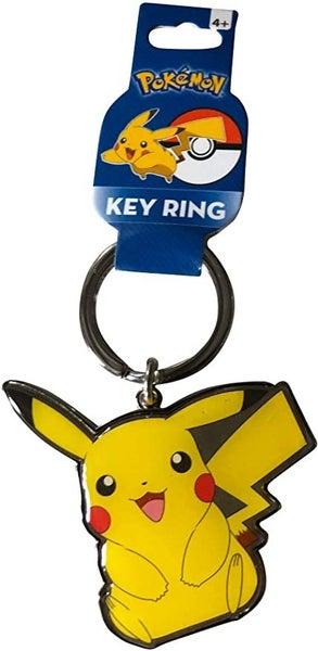 POKEMON Pikachu Metal Keychain