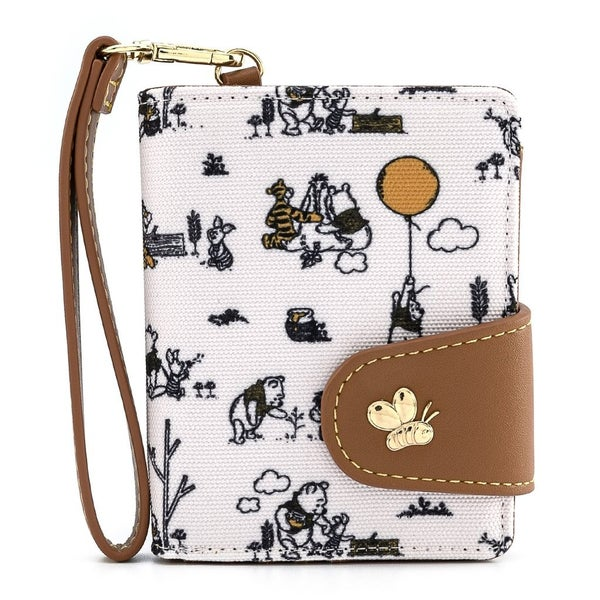Winnie the Pooh Line Drawing Flap Wallet Loungefly