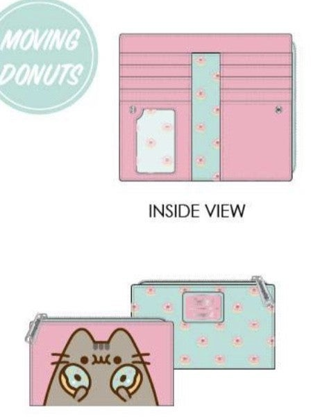 Pusheen Donut Nom Nom FLap Wallet [PRE-ORDER - SEPTEMBER DELIVERY] LOUNGEFLY