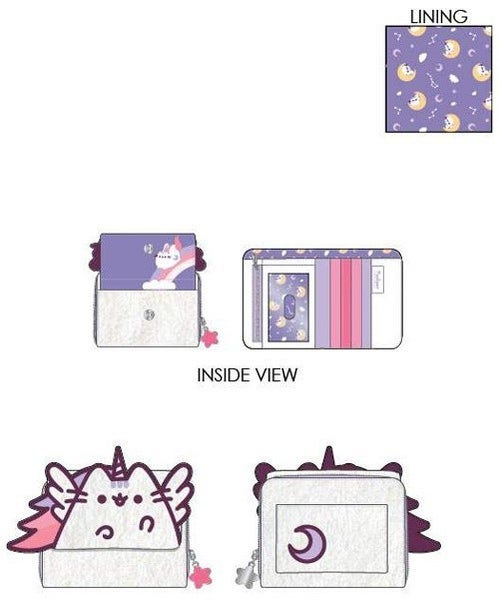 PREORDER Loungefly Pusheen plush flap zip wallet Expected late June