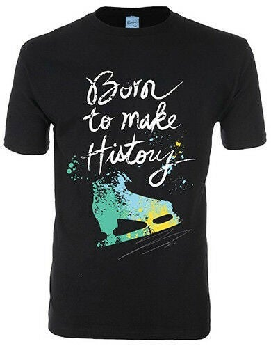 YURI ON ICE Born to Make History Ice Skate T-Shirt