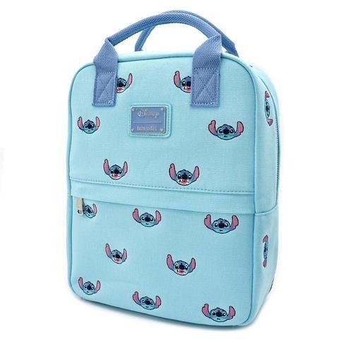 Disney Lilo & Stitch Canvas Embroidered Backpack Loungefly