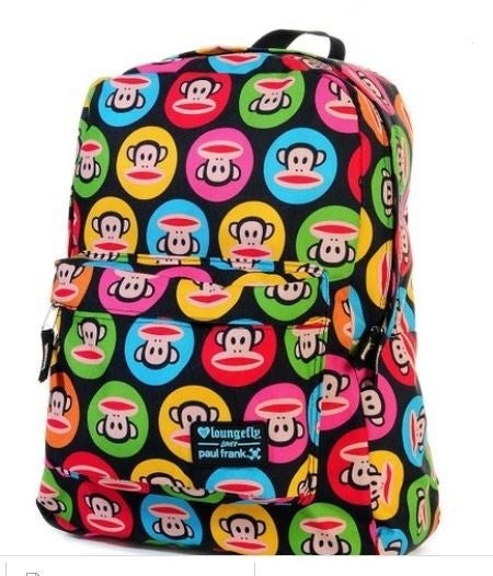 Paul Frank Julius Full-Sized Backpack LOUNGEFLY