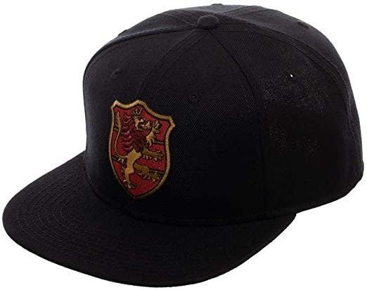 Black Clover Crimson Lion Crest Snapback Hat