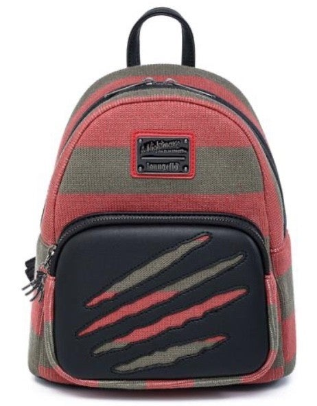 NIGHTMARE ON ELM ST Freddy Sweater Mini Backpack LOUNGEFLY