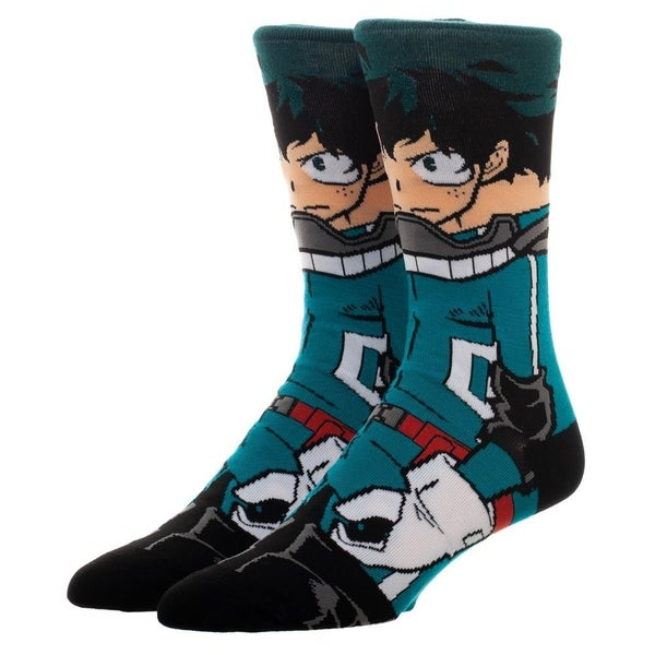 My Hero Academia Deku Character Socks