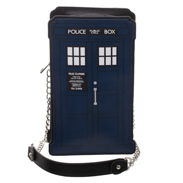 Doctor Who Tardis Die Cut Handbag