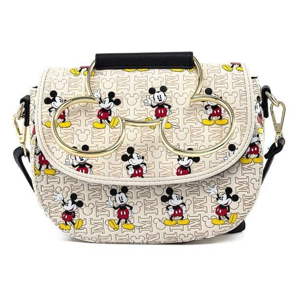 MICKEY Hardware AOP CROSSBODY   LOUNGEFLY