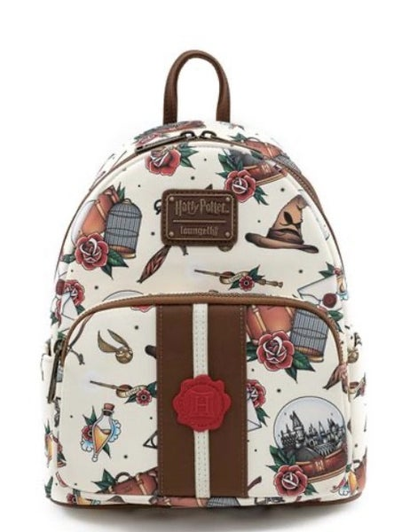 Harry Potter Tattoo Mini-Backpack and/or Wallet Loungefly