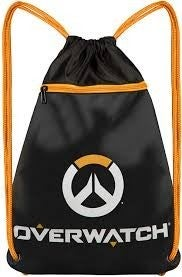 Overwatch Logo Cinch Loot Bag Jinx
