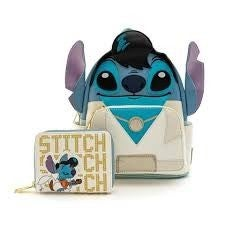 Disney Elvis Stitch Cosplay Mini Backpack and/or Zip Around Wallet Loungefly