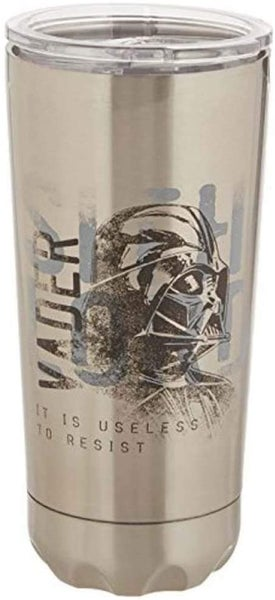 Darth Vader Star Wars 20-Ounce Stainless Steel Vacuum Travel Tumbler