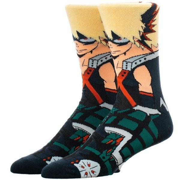 My Hero Academia Bakugo Character Socks