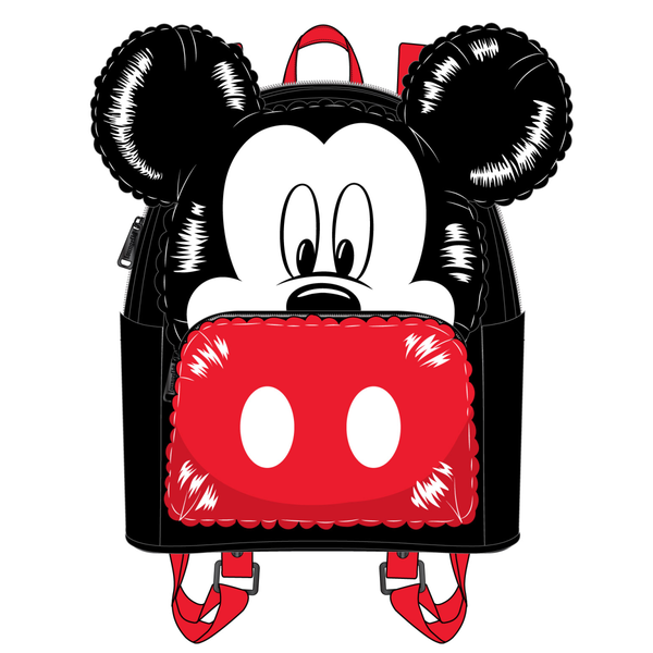 Mickey Mouse Balloon cosplay Mini Backpack Disney by Loungefly PRE-ORDER expected late May