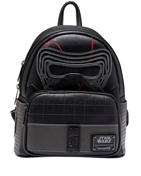 Star Wars Kylo Ren SET, MINI BACKPACK or WALLET option  LOUNGEFLY
