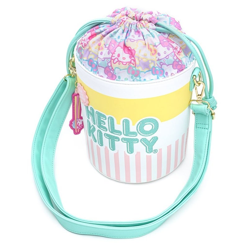 SANRIO: HELLO KITTY Cup O Kitty Crossbody LOUNGEFLY [PRE-ORDER Expected Delivery July]