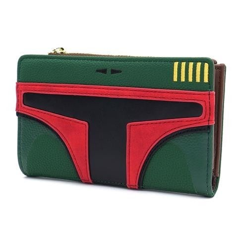 Star Wars Boba Fett Loungefly Flap Wallet