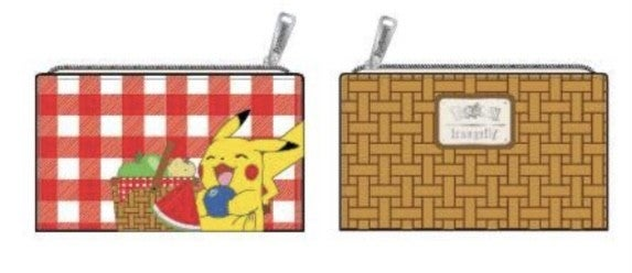 Pikachu Picnic Basket Flap Wallet - Pre-order Late February