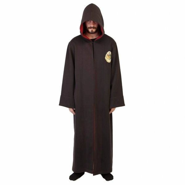 Harry Potter Hogwarts School of Witchcraft and Wizardry Student Bath Robe Black