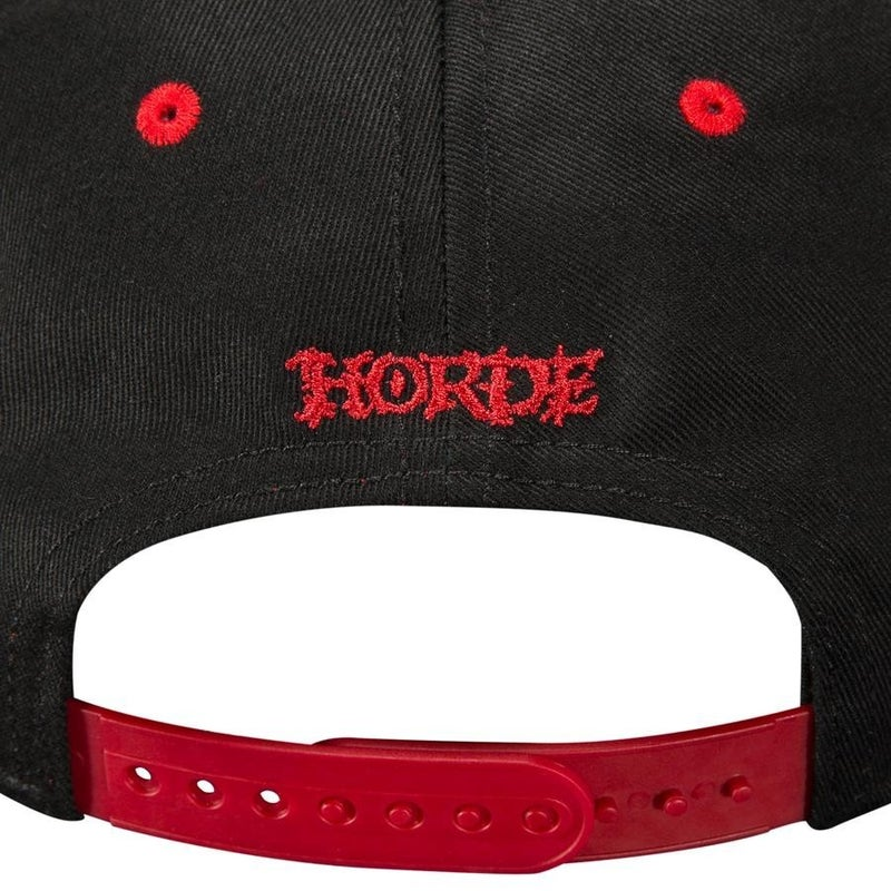 WORLD OF WARCRAFT WOW HORDE PREMIUM SNAP BACK HAT