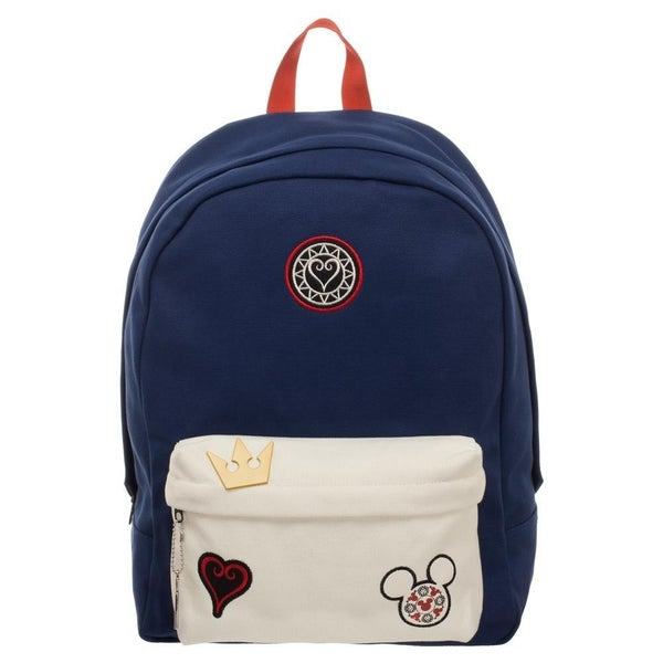 Disney Kingdom Hearts  Backpack with Icons