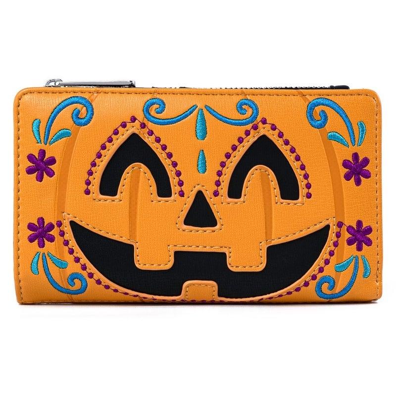 Halloween Pumpkin  MINI BACKPACK or WALLET option LOUNGEFLY