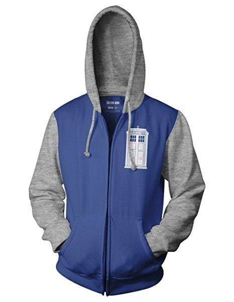 Doctor Who Flight Instructor Hoodie Zipper