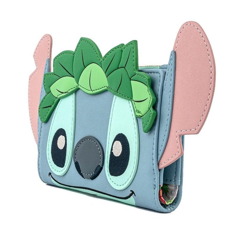 Stitch Luau Cosplay Wallet Loungefly