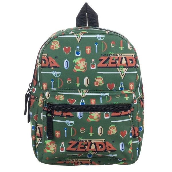 Zelda Allover Sublimated Print Mini Backpack