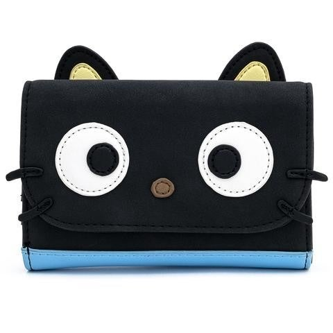 SANRIO: CHOCOCAT Cosplay Tri-Fold Flap Wallet  LOUNGEFLY Hello Kitty delivery in July