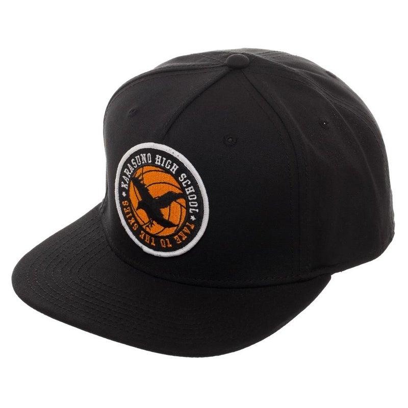 Bioworld Haikyu!! Karasuno High School Crow Logo Snapback Hat