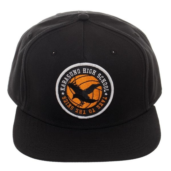 Bioworld Haikyu!! Karasuno High School Crow Logo Snapback Hat