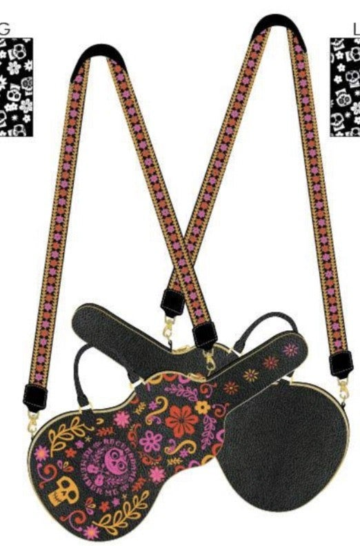 Coco Guitar Crossbody  [PRE-ORDER - OCTOBER DELIVERY] LOUNGEFLY