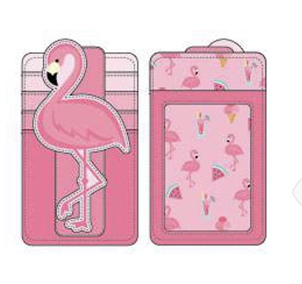 Pool Party Flamingo Cardholder Loungefly PRE-ORDER