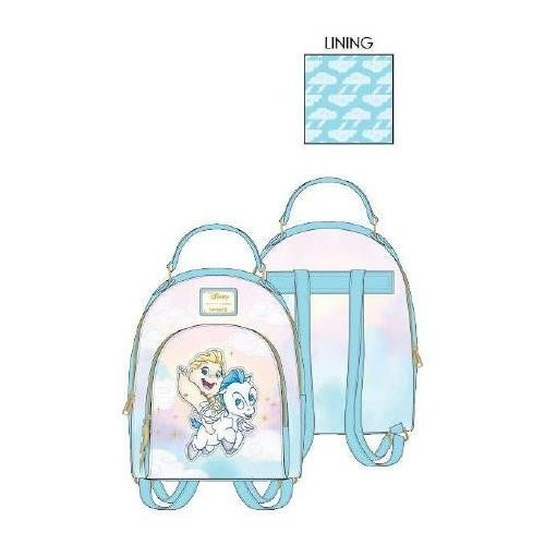 LOUNGEFLY DISNEY HERCULES BABY HERC AND PEGASUS MINI BACKPACK AND/OR WALLET - PREORDER
