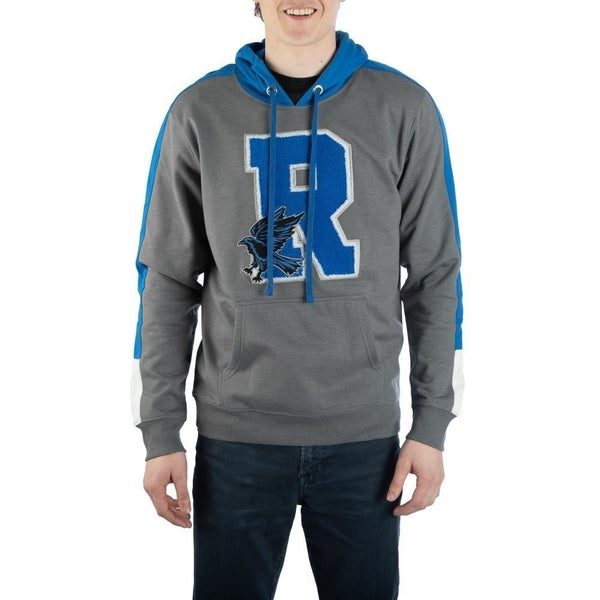 Harry Potter Ravenclaw Chenille Patch Hooded Sweatshirt