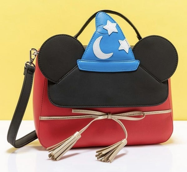 Fantasia Sorcerer Mickey CROSSBODY or  WALLET options Loungefly