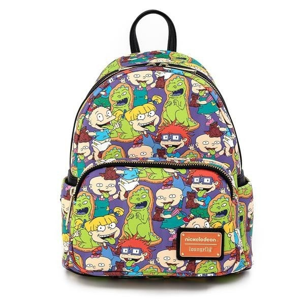 NICKELODEON RUGRATS REPTAR BAR AOP MINI BACKPACK