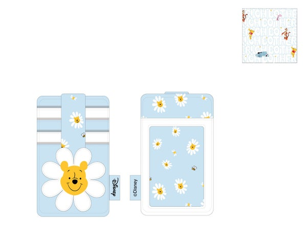 Winnie the Pooh Daisy Head Card Holder Wallet Loungefly - PRE-ORDER expected late March