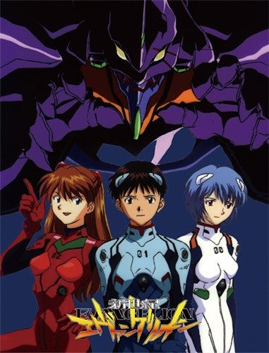 EVANGELION GROUP SUBLIMATION THROW BLANKET