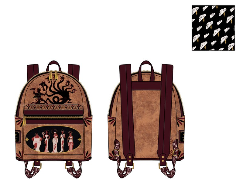 Disney Hercules Mini Backpack Loungefly PRE-ORDER