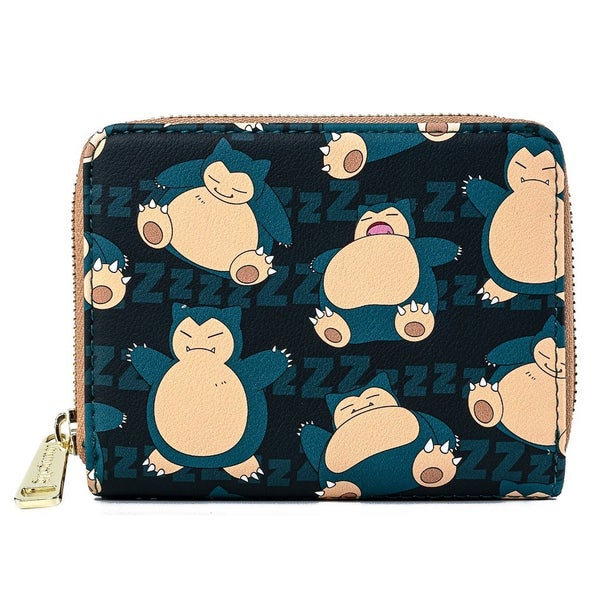 Pokemon Snorlax Wallet   LOUNGEFLY