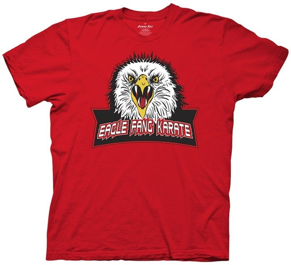 Cobra Kai Eagle Fang Karate Red T-Shirt