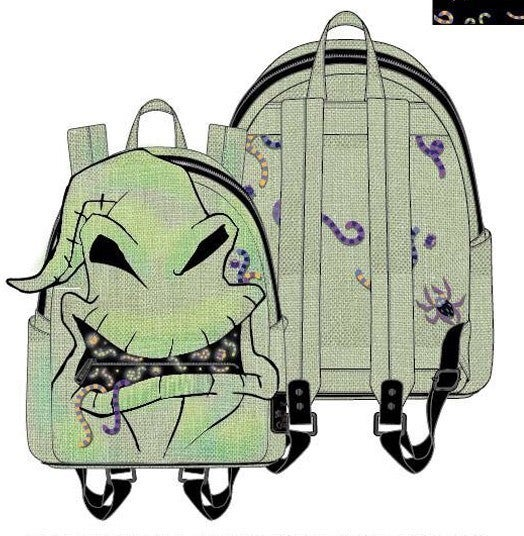 Oogie Boogie Creepy Crawlies Cosplay Mini or Set Backpack PRE-ORDER shipping August Loungefly