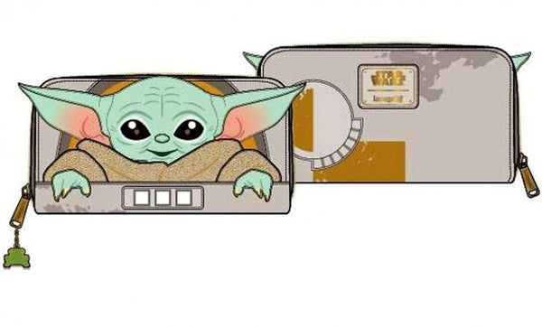 Loungefly THE CHILD Baby Yoda Star Wars  Wallet PRE-ORDER