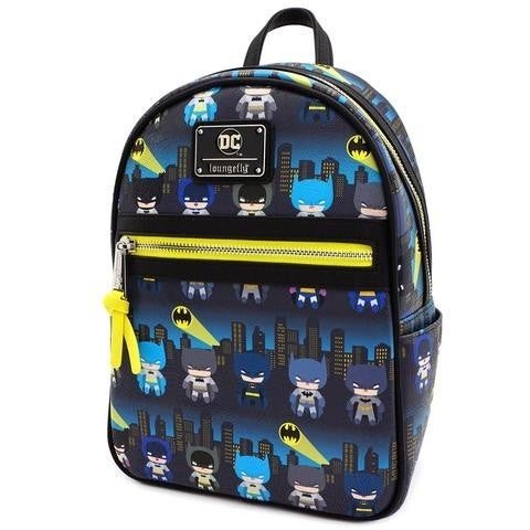 DC Batman 80th Chibi AOP Mini Backpack Loungefly