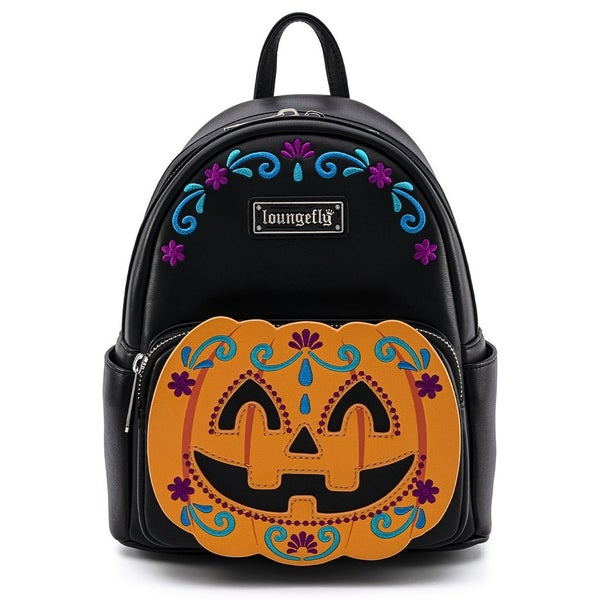 Halloween Pumpkin  MINI BACKPACK or WALLET option LOUNGEFLY