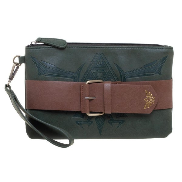 Zelda Buckle Clutch Wristlet Bioworld