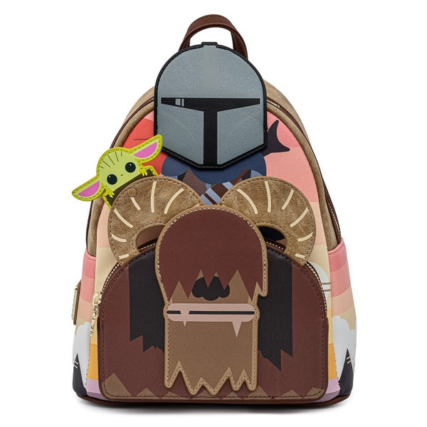 Mandalorian Bantha Ride Mini Backpack Star Wars Loungefly PRE-ORDER expected late May